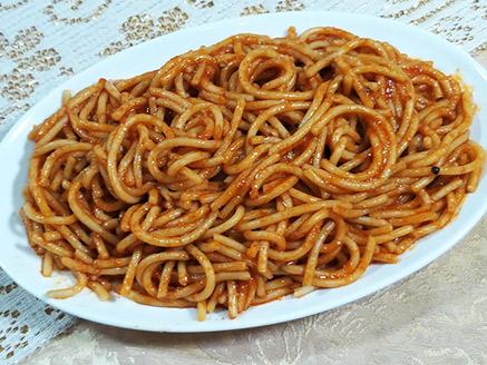 Spaghetti in Tomato Sauce for Children