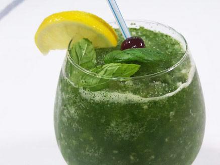 Frozen Mint Lemonade (Limonana)