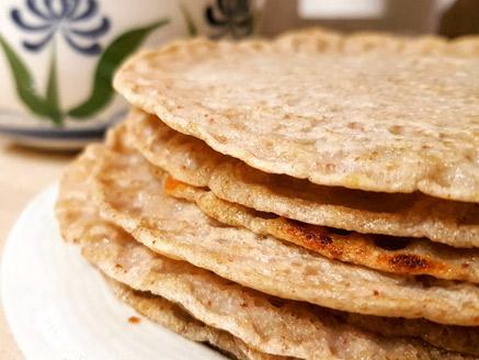 Green Buckwheat Pancakes