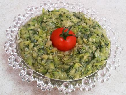 Zucchini Spread with Dill