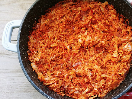 Cabbage and Rice Stew