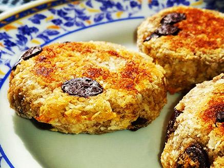 Vegan and Gluten Free Banana-Coconut Cookies
