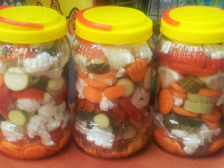 Home-Style Pickled Vegetable Mix