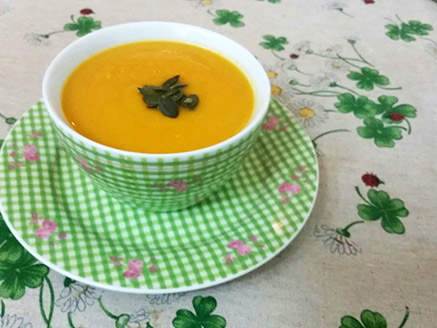 Easy Vegan Orange Soup