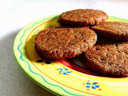 Gluten Free Vegan Pea Latkes
