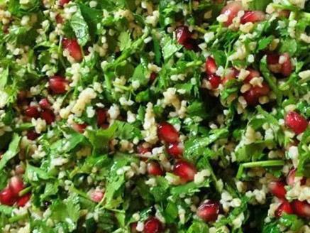 Bulgur Wheat Salad with Herbs