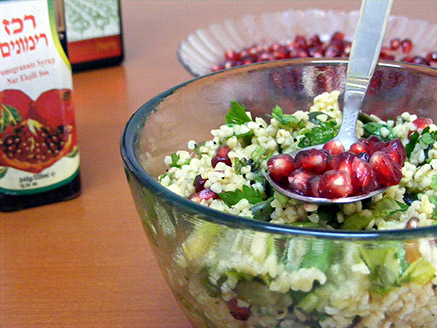 Tabbouleh Salad with Pomegranates