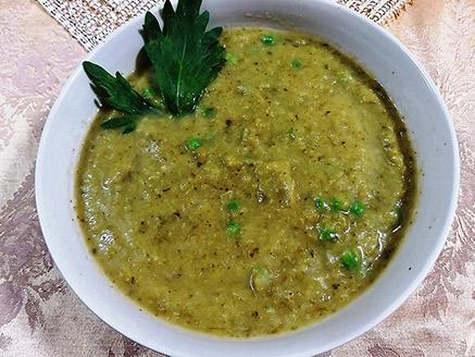 Vegan Green Vegetable Soup