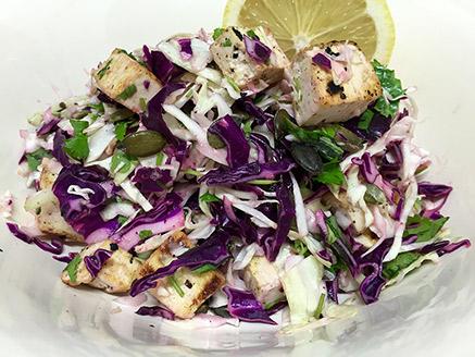 Cabbage and Tofu Salad