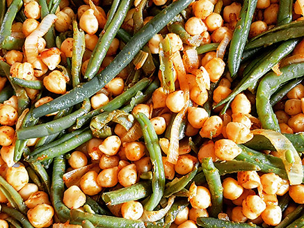 Chickpea and Green Bean Stew