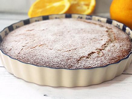 Easy Vegan Orange Cake