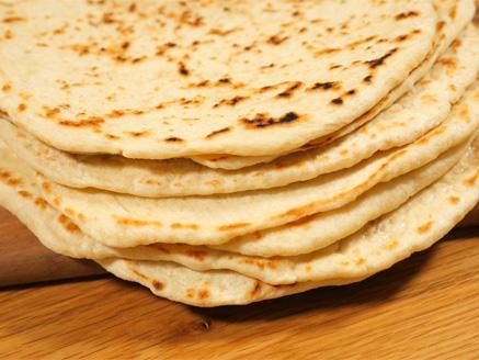 Homemade Pitas