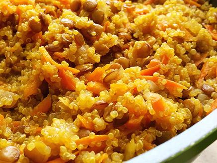 Quinoa and Lentil Stew