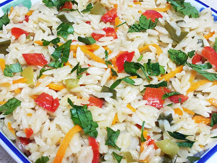 Ptitim with Vegetables
