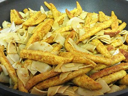 Vegan Shawarma with Buckwheat Noodles (Soyarma)