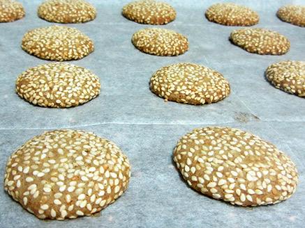 Healthy Vegan Tahini Cookies
