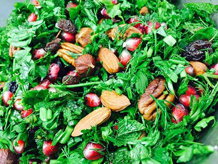 Rich Herb Salad