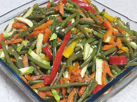 Green Bean with Mixed Vegetables