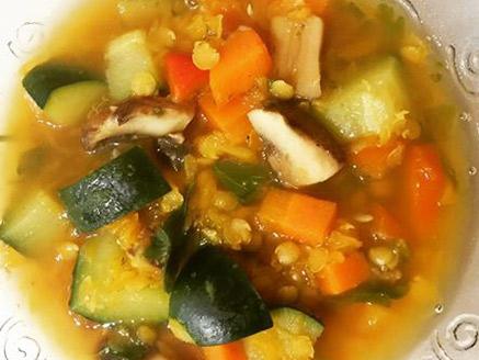 Dietary Vegan Vegetable Soup