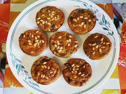 Gluten-Free Vegan Legumes and Vegetables Muffins