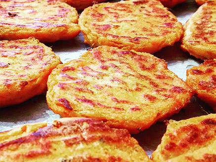 Gluten-Free Vegan Sweet Potato Patties