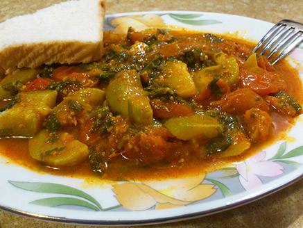 Zucchini and Cherry Tomato Stew