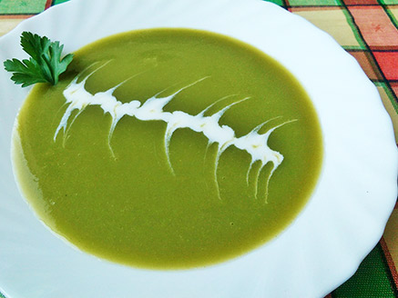 Velvety Vegan Celery Soup