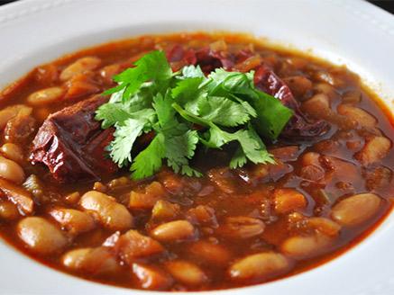 Thick Vegan Bean Soup