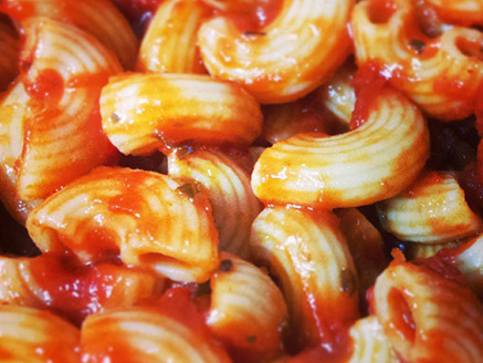 Pasta with Tomato and Basil Sauce for Children