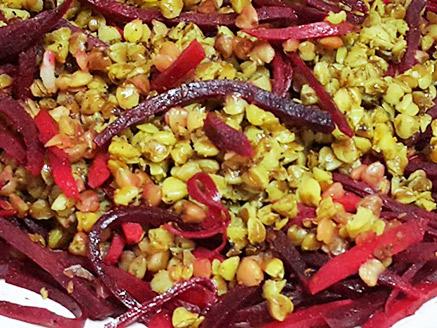 Buckwheat Salad with Beet