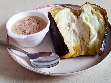 Baked Eggplants with Tomato Tahini
