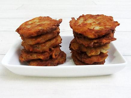 Vegan Fried Potato Latkes