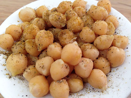 Cooked Chickpea