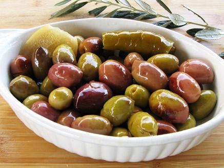 Homemade Pickled Olives
