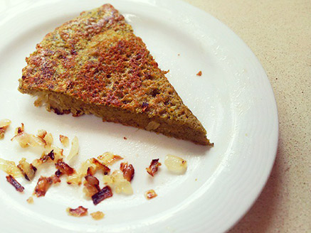 Vegan Omelette Made from Red Lentil Flour