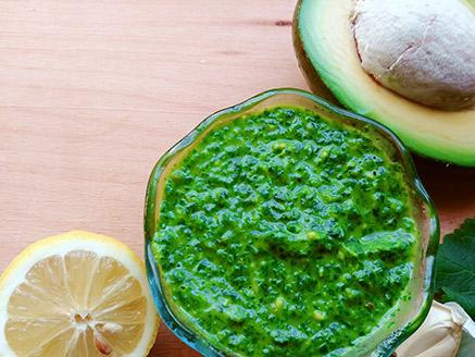 Sour Greeny Pesto