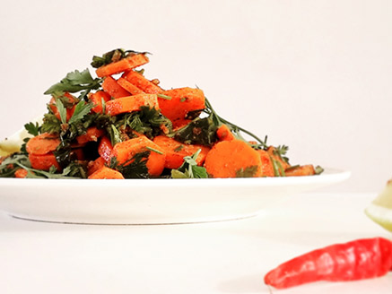 Cooked Moroccan Carrot Salad