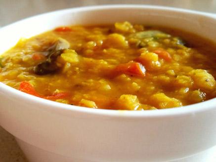 Easy Vegan Indian Lentil Dal
