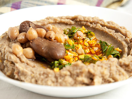 Chickpea and Broad Bean Spread