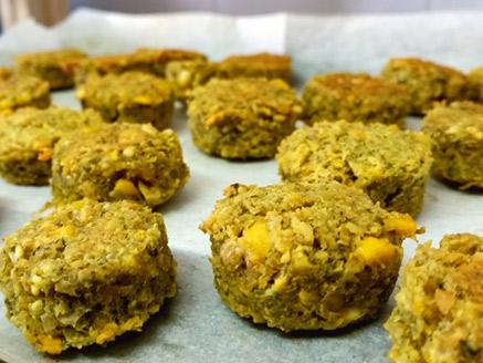 Gluten-Free Vegan Baked Falafel