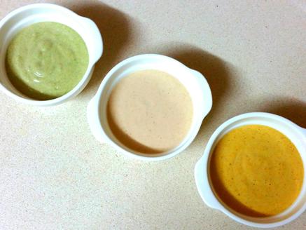 Tahini in 3 Colors