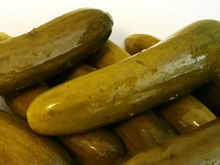 Home-Pickled Cucumbers